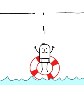 Jumping in with a life preserver