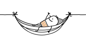 Dr. Pat's blog - man on hammock
