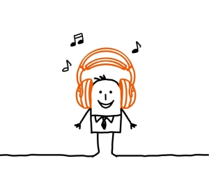 Dr. Pat's blog - man listening to music